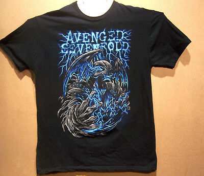 Avenged Sevenfold  Asian / Middle Eastern Tour Shirt  XL   100% Cotton  2012