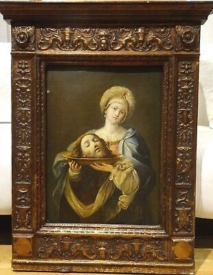 17th Century Italian Old Master Salome Head Of St John The Baptist Guido RENI