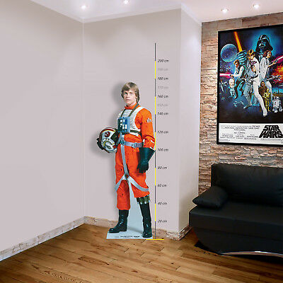 Star Wars Pappaufsteller (Stand Up) - Luke Skywalker Rebel Pilot (178 cm)