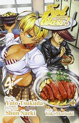 Food Wars N° 4 - Young Collection 37 - Goen - ITALIANO NUOVO #NSF3