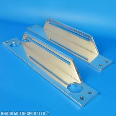 Oil Cooler Mounting Brackets (Top And Bottom) For Our 9 16 19 30 Row Coolers