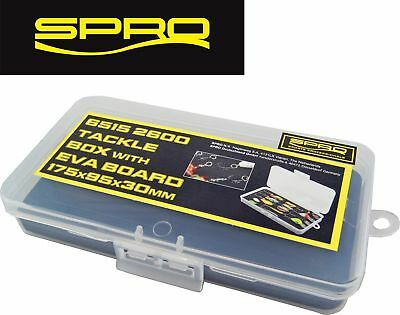 Spro Tackle Box with EVA 17,5x9,5x3cm - Blinkerbox, Köderbox, Angelbox
