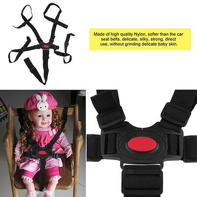 Baby Car Safety Belt Strap Harness 5 Point for Stroller Chair Pram Infant Seat
