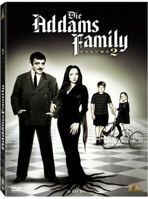 Addams Family - Staffel / Season  2  mit  * 3 DVDs * - die DVD Box  NEU in Folie