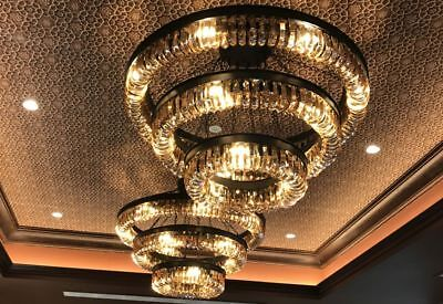 Crystal Chandelier Lights In 3 Styles Large Decorative Amber Ceiling Lights
