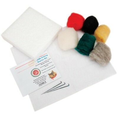 Colonial Needle Felting Starter Kit- - Generic Shipping Included