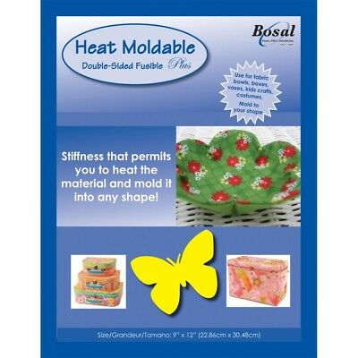 """Bosal Heat Moldable Double-sided Fusible Stabilizer-20""""x36"""" - Doublesided x 36"""