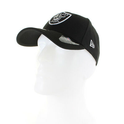 Mens New Era NFL 9Forty Adjustable Cap Oakland Raiders Black