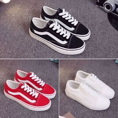 Ladies Womens Flats Lace Up Casual Funky Denim Sneaker Pumps Trainers Shoes