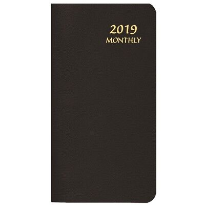 2019 Black Monthly Pkt Planner, Monthly Planners by Payne Publishers