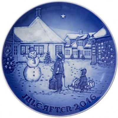 NEW IN BOX! 2016 Bing & Grondahl Christmas Plate Factory First Quality DENMARK