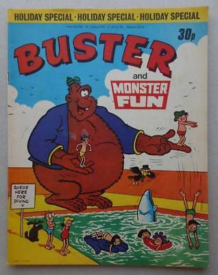 Buster and Monster Fun Holiday Special comic 1977 VG/Fine (phil-comics)
