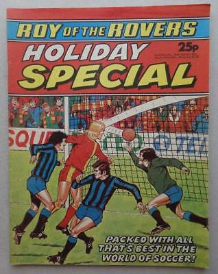 Roy of the Rovers Holiday Special comic 1977 FN/FN+ (phil-comics)