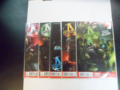 2014 Avengers Undercover COMPLETE RUN of 10 Comic Books (1-10) NM!! 1ST PRINTS!!