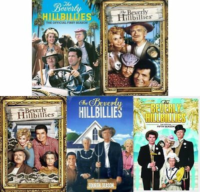 Beverly Hillbillies TV Series Complete Seasons 1-5 DVD Bundle Set BRAND NEW