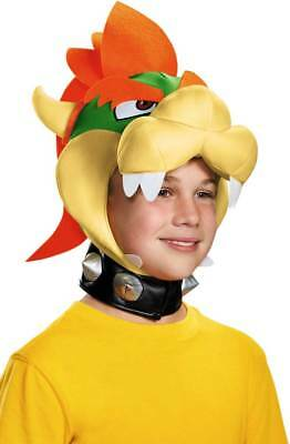 Licensed Nintendo Super Mario Brothers Bowser Headpiece Child Costume Accessory