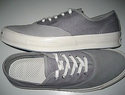 c26f029fbd33 Converse Mens Jack Purcell JP Signature CVO OX Dolphin Grey Shoes Size 10  New