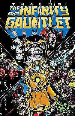 Infinity Gauntlet TP Trade TPB Thanos Marvel Movie Issues 1 - 6 FREE SHIP