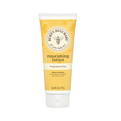 Burts Bees Baby Bee Nourishing Lotion Fragrance Free 170g Mother & Baby Care