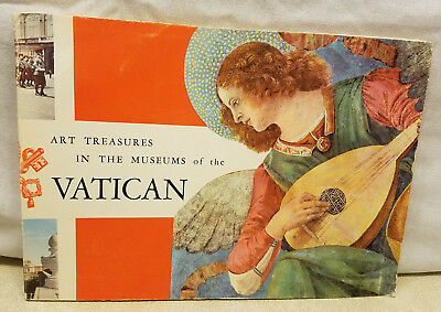 Art Treasures In The Museums of the VATICAN Softcover Book Walking Tour Guide