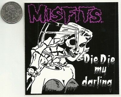 MISFITS new vinyl Sticker/Decal punk rock metal music band car bumper