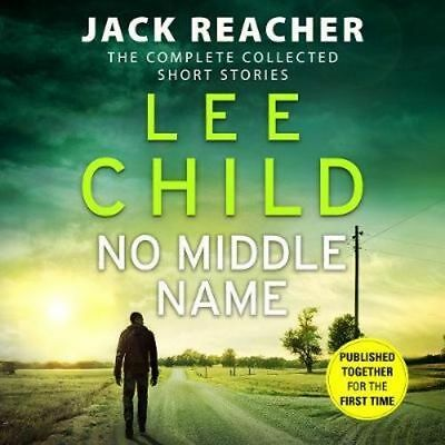 NEW No Middle Name By Lee Child Audio CD Free Shipping