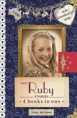NEW The Ruby Stories : 4 Books in One By Penny Matthews Hardcover Free Shipping