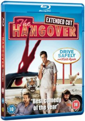 Bradley Cooper, Heather Graham-Hangover: Extended Cut (UK IMPORT) Blu-ray NEW