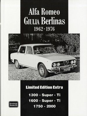 Alfa Romeo Giulia Berlinas Limited Edition Extra 1962-1976 (Brook...