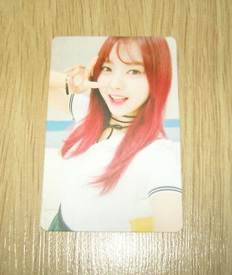 Pristin 2nd mini Album SCHXXL OUT Nayoung B Official Photo card