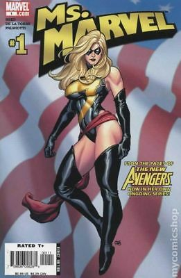 Ms. Marvel (2nd Series) 1A 2006 Cho Variant FN Stock Image