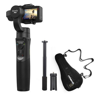 Hohem Pro 3-Axis Handheld Stabilizing Gimbal for GoPro Hero 6/5/4/3+ Pergear Bag