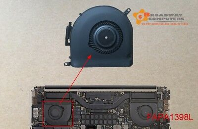 "LEFT CPU Cooling Fan for MacBook Pro 15"" Retina A1398 2012-2015"