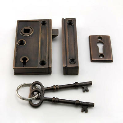 Signature Hardware Screen Door Rim Lock Set