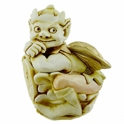 Harmony Kingdom BON CHANCE Crushed Marble Angelique Collection Goblin ANBO