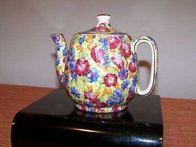 Vintage ROYAL WINTON CHINTZ Breakfast set TEAPOT TEA POT ROYALTY Pattern    VGC