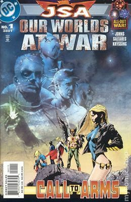 JSA Our Worlds at War #1 2001 FN Stock Image