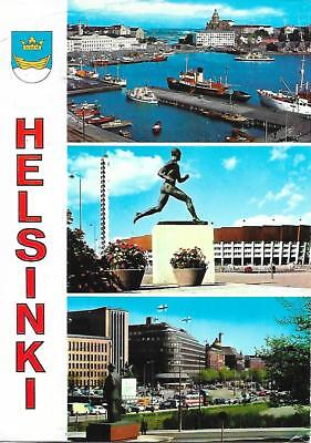 Helsinki - Views -Posted Postcard