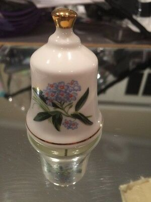Alaska Forget Me Not - The Danbury Mint  State Flower Bell Collection