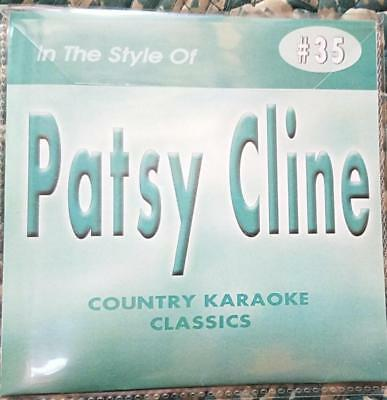 Patsy Cline Cdg Karaoke Country Classics Ckc #35 Cd+G Crazy,fall To Pieces