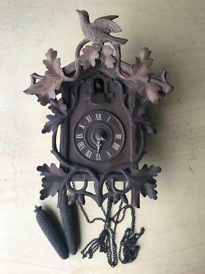 Antique Black Forest Style Cuckoo (for restoration)