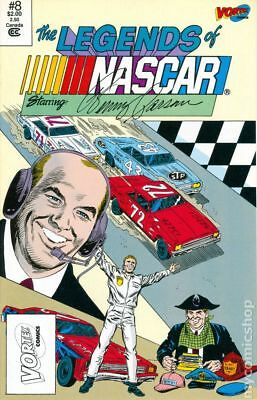 Legends of Nascar #8A 1992 FN Stock Image