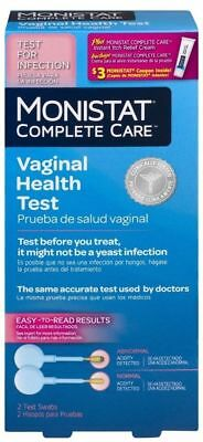 E24 Monistat Complete Care Vaginal Health + Itch Cream 2 Test Swabs Exp. 11/2018