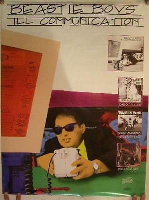 Beastie Boys Poster Ill Communication The