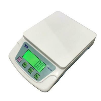 22lb 10KG/0.5G Portable LCD Display Plastic Electronic Postal Scale White