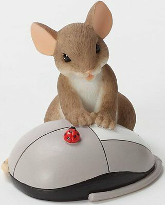 TCA Charming Tails I REALLY CLICK WITH YOU Mouse W/ Computer Mouse Figurine Mice
