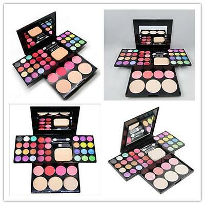 Prpfessional Makeup Eyeshadow Blush Lip Gloss Palette Kit With Pencil & Brush