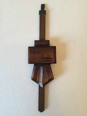 New Chalet Style Cuckoo Clock Pendulum, Made In Germany