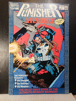 Punisher Armory # 1  (1990)  NM  91TB.