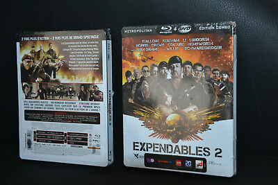 Coffret Steelbook Blu Ray Collector ...expendables 2...neuf Sous Blister